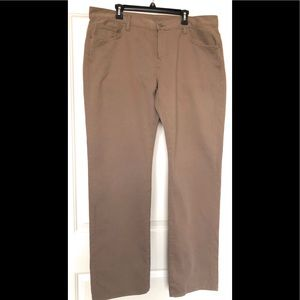 7 For All Mankind 7FAM Austyn Beige Jeans Size 40